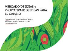 Mercado de Ideas y Prototipaje de Ideas para el Cambio