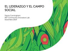 El Liderazgo y el Campo Social